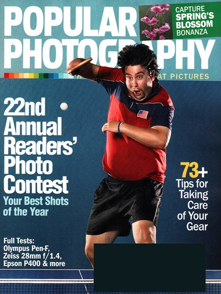 Popular Photography Cover - 4/1/2016