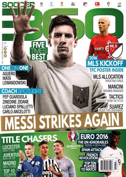 Soccer 360 Cover - 3/1/2016