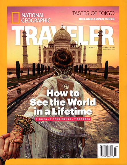 National Geographic Traveler Cover - 4/1/2016