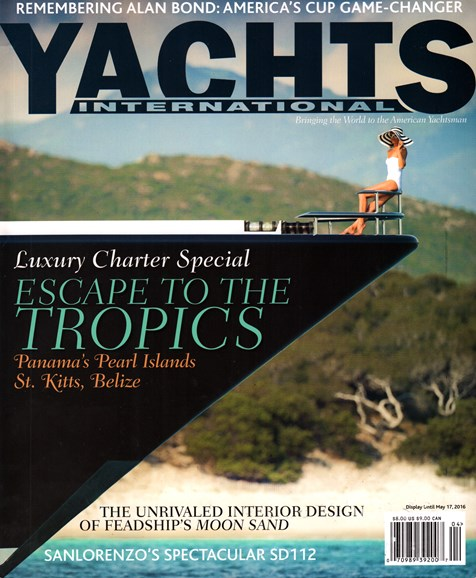 Yachts International Cover - 4/1/2016