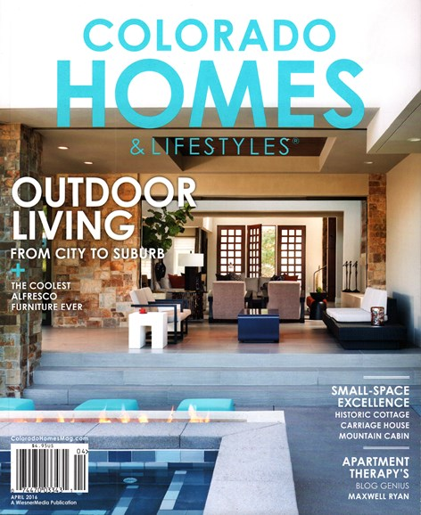 Colorado Homes & Lifestyles Cover - 4/1/2016