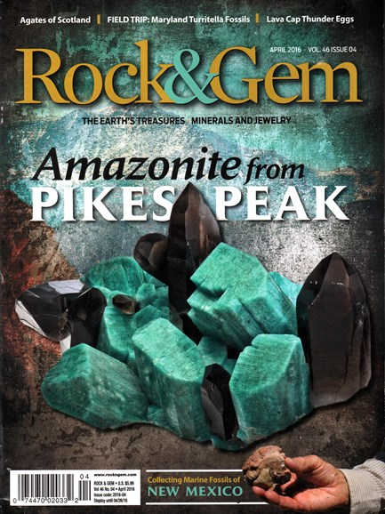 Rock & Gem Cover - 4/1/2016