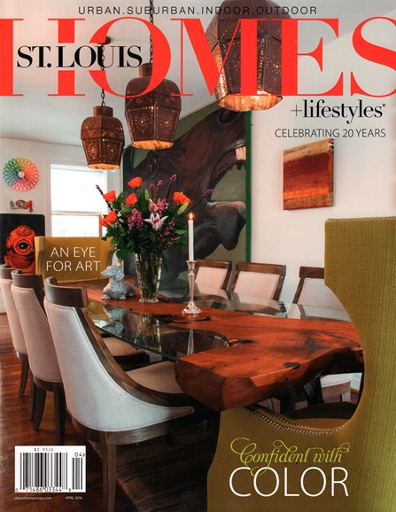 St. Louis Homes & Lifestyles Cover - 4/1/2016