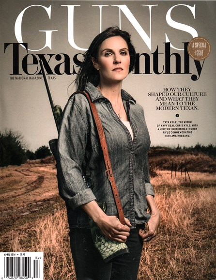 Texas Monthly Cover - 4/1/2016