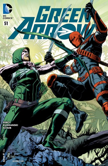 Green Arrow Cover - 6/1/2016