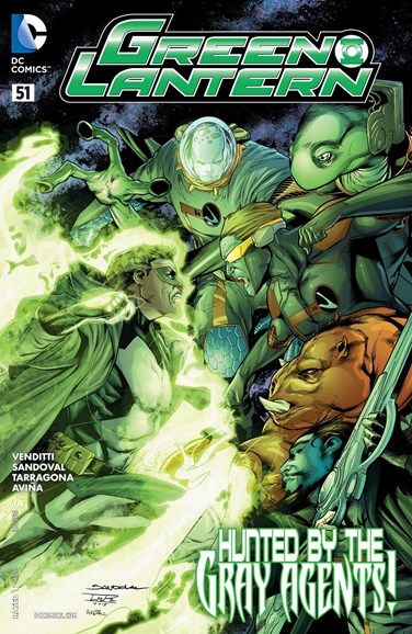 Green Lanterns Cover - 6/1/2016
