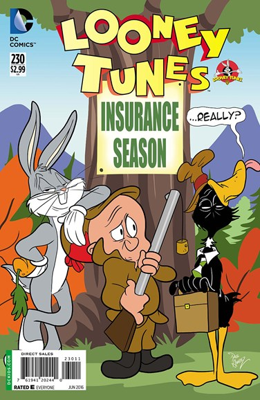 Looney Tunes Cover - 6/1/2016