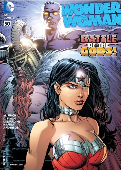 Wonder Woman Cover - 5/1/2016