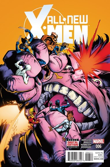 X-Men Blue Cover - 5/1/2016