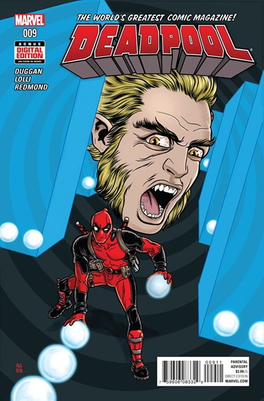 Deadpool Cover - 6/1/2016