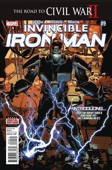 Tony Stark: Iron Man Cover - 7/1/2016