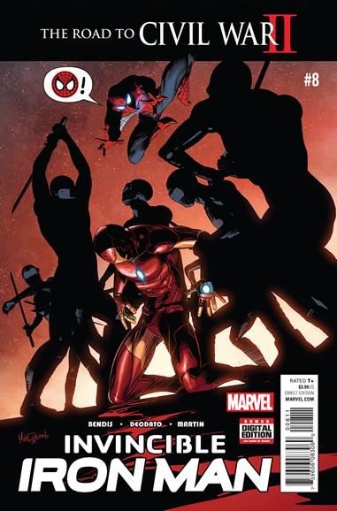 Tony Stark: Iron Man Cover - 6/1/2016
