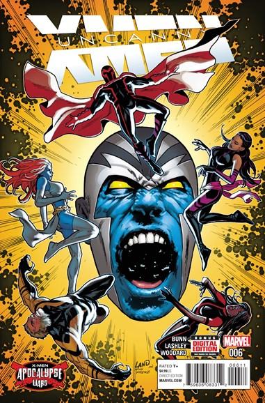 Astonishing X-Men Cover - 6/1/2016