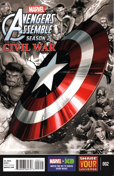 Marvel Universe Avengers Assemble Cover - 6/1/2016