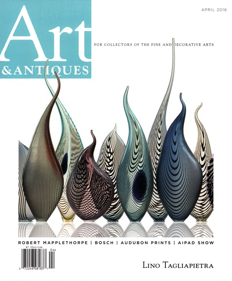 Art & Antiques Cover - 4/1/2016