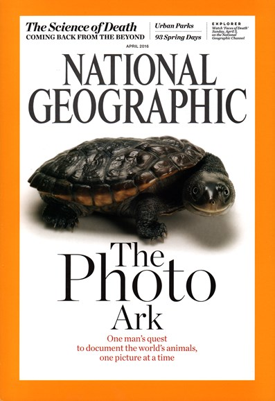 National Geographic Cover - 4/1/2016