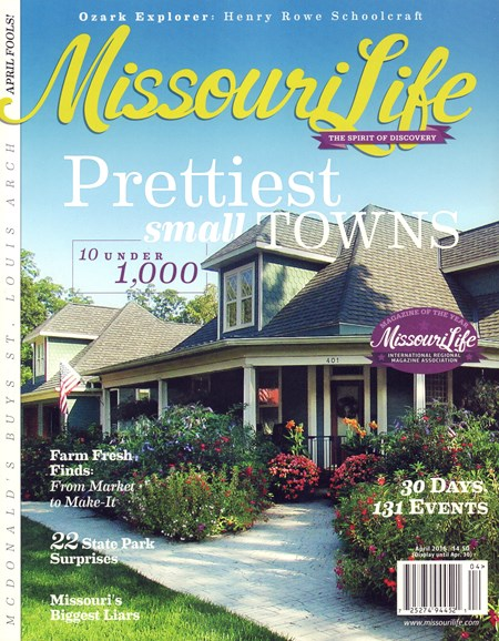 Missouri Life Cover - 4/1/2016