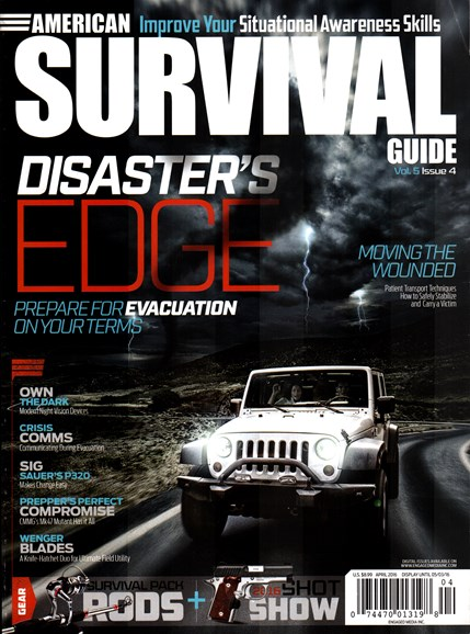 American Survival Guide Cover - 4/1/2016