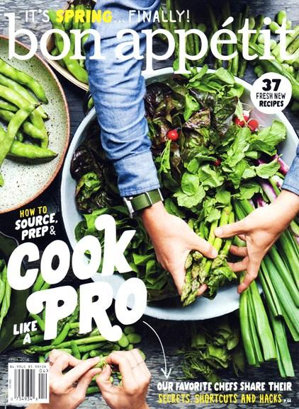 Bon Appétit Cover - 4/1/2016