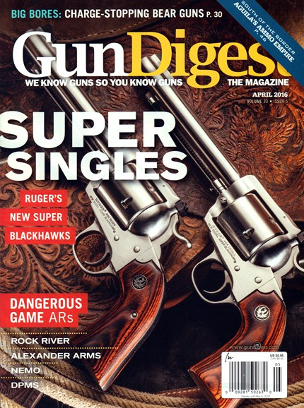 Gun Digest Cover - 4/1/2016