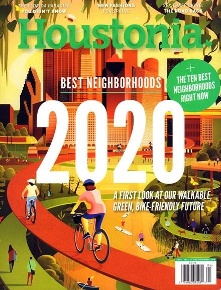Houstonia Cover - 4/1/2016