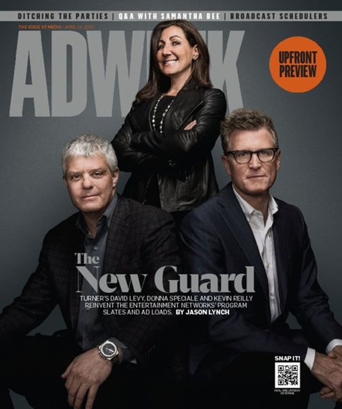 Adweek Cover - 4/18/2016