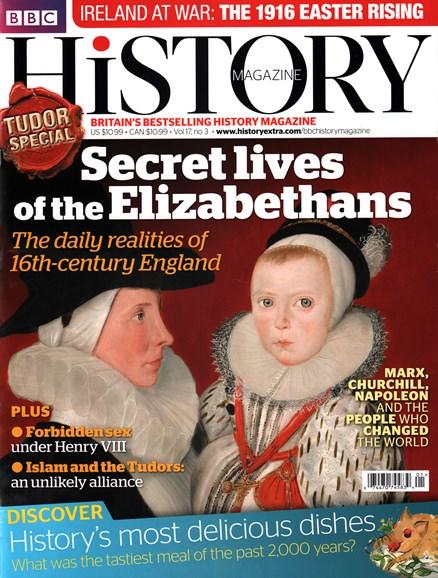 BBC History Cover - 3/1/2016
