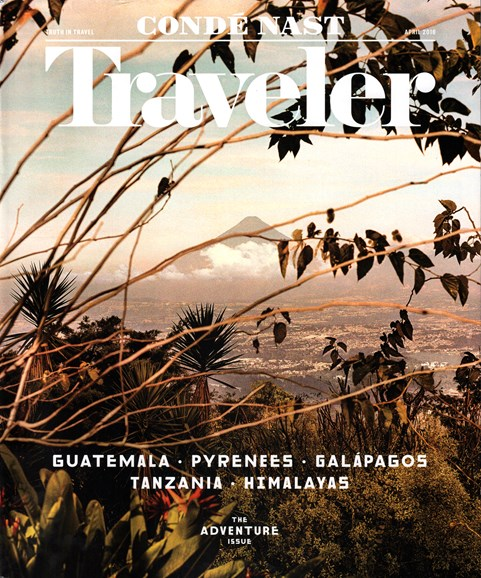 Condé Nast Traveler Cover - 4/1/2016