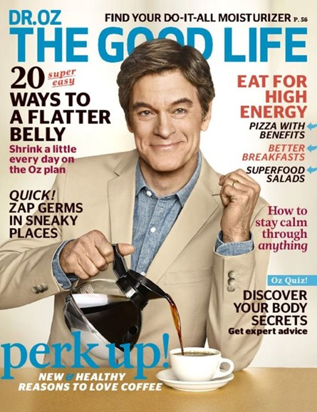 Dr. Oz The Good Life Cover - 4/1/2016