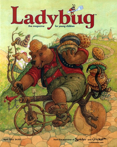 Ladybug Cover - 4/1/2016
