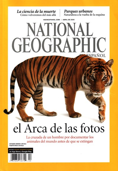 National Geographic En Español Cover - 4/1/2016