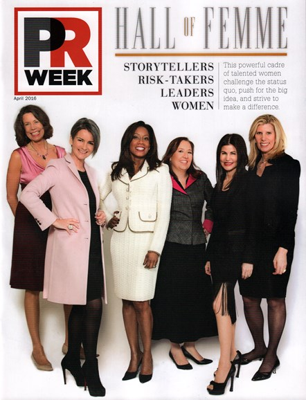 PRWeek Cover - 4/1/2016