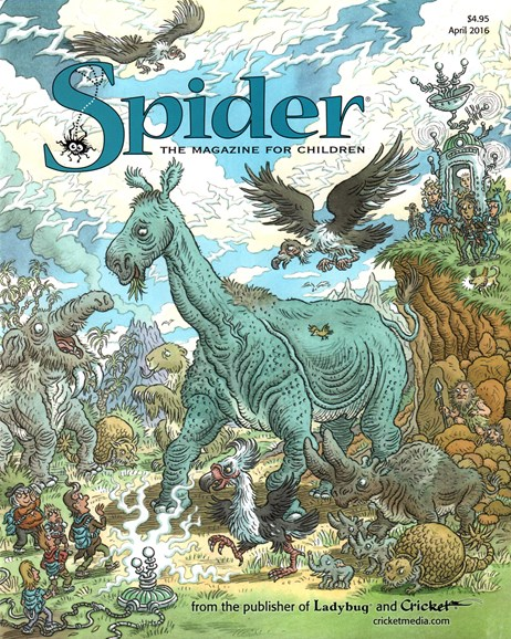 Spider Cover - 4/1/2016