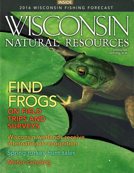 Wisconsin Natural Resources Cover - 4/1/2016