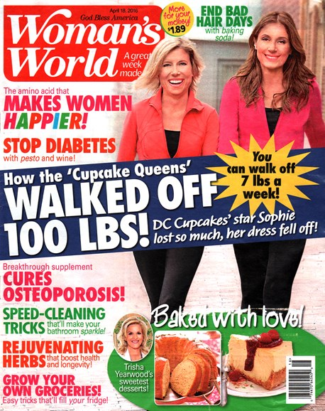 Woman's World Cover - 4/18/2016