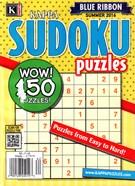 Blue Ribbon Kappa Sudoku Puzzles Magazine 6/1/2016