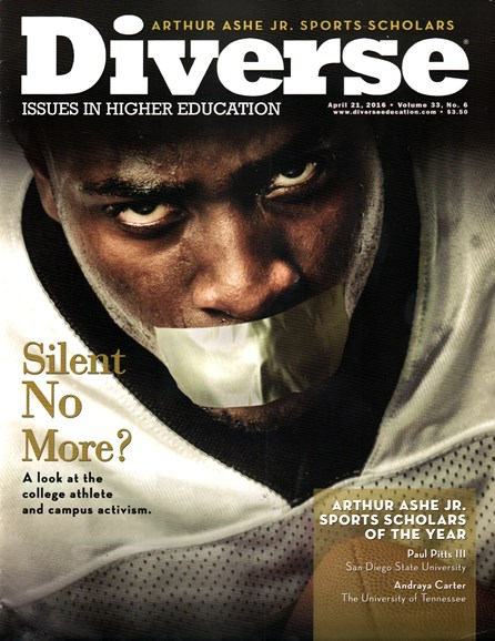 Diverse: Issues In Higher Education Cover - 4/21/2016