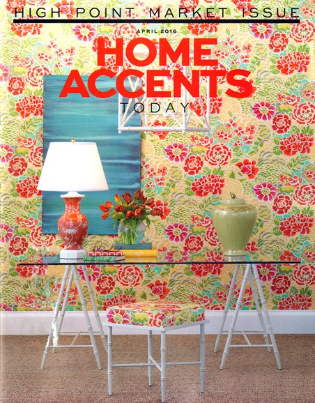 Home Accents Today Cover - 4/1/2016