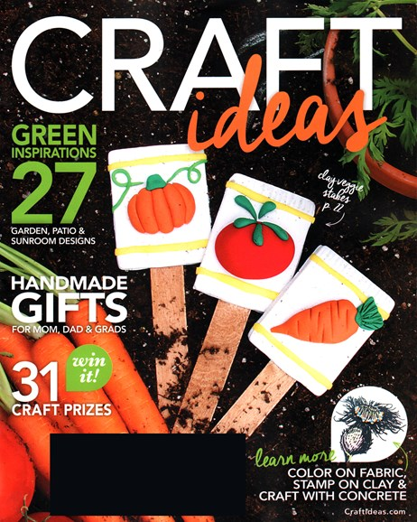 Craft Ideas Cover - 4/1/2016