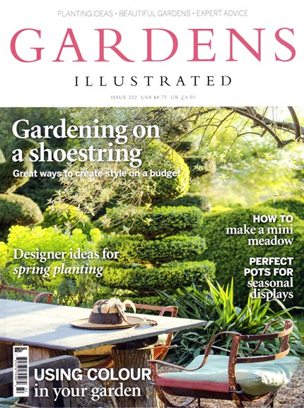 Gardens Illustrated Cover - 3/1/2016