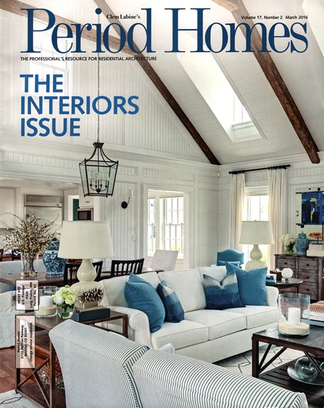 Period Homes Cover - 3/1/2016