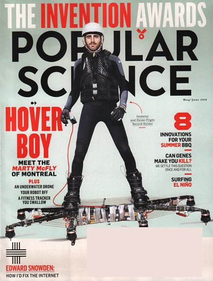 Popular Science Cover - 5/1/2016
