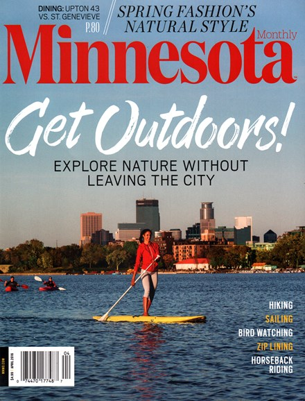 Minnesota Monthly Cover - 4/1/2016