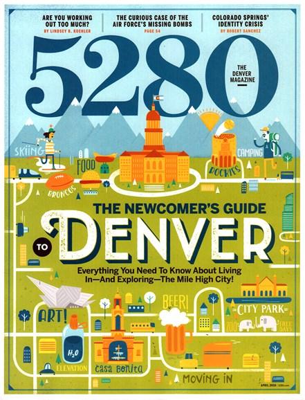 5280 Magazine Cover - 4/1/2016