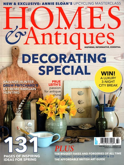 Homes & Antiques Cover - 4/1/2016