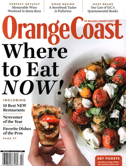 Orange Coast Cover - 4/1/2016