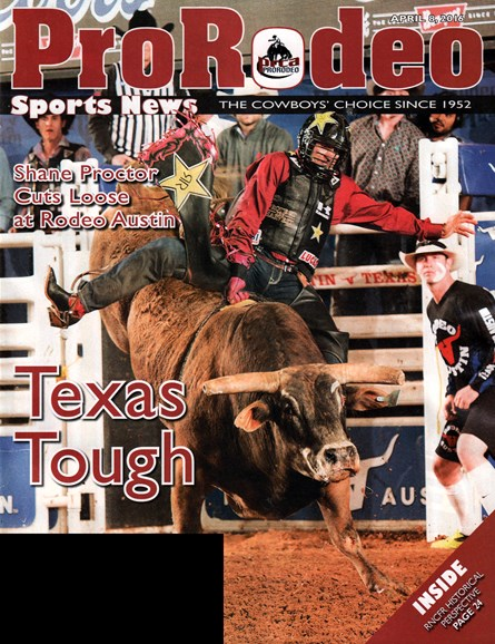 Pro Rodeo Sports News Cover - 4/8/2016