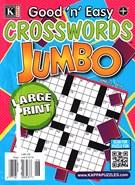 Good N Easy Crosswords Jumbo Magazine 6/13/2016