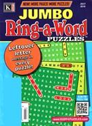 Jumbo Ring a Word Magazine 7/1/2016