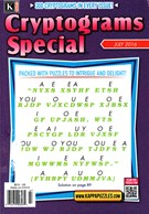 Cryptograms Special Magazine 7/1/2016